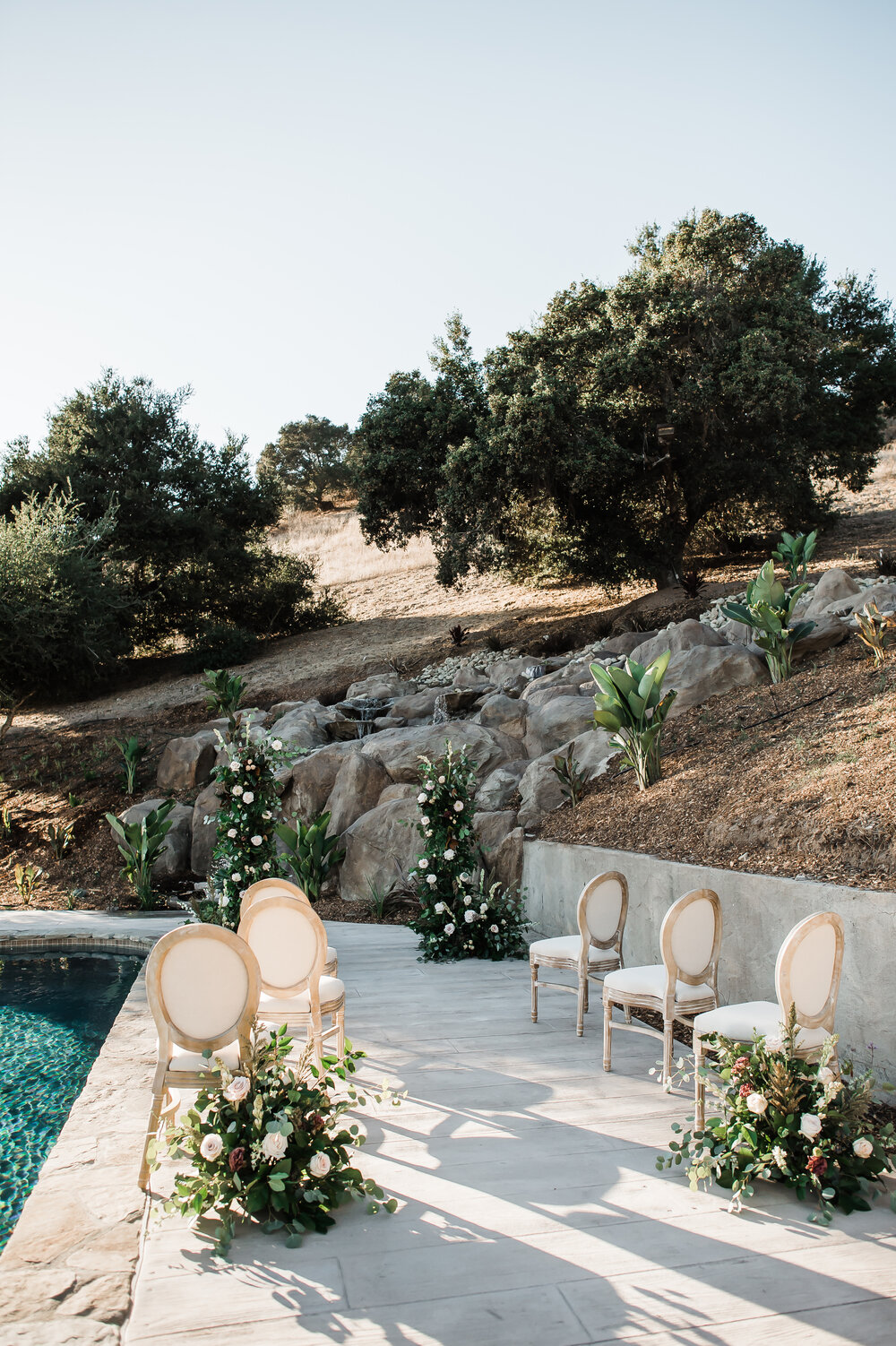 www.santabarbarawedding.com | The Tavern at Zaca Creek | Events by Fran | Michelle Ramirez Photography | Tangled Lotus | Amigo Party Rentals | The Ceremony Staged Set Up