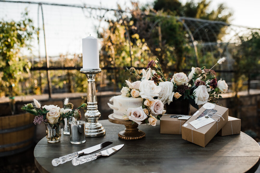 www.santabarbarawedding.com | The Tavern at Zaca Creek | Events by Fran | Michelle Ramirez Photography | Tangled Lotus | Amigo Party Rentals | Posies and Sugar | Love and Fromage | Dessert Table