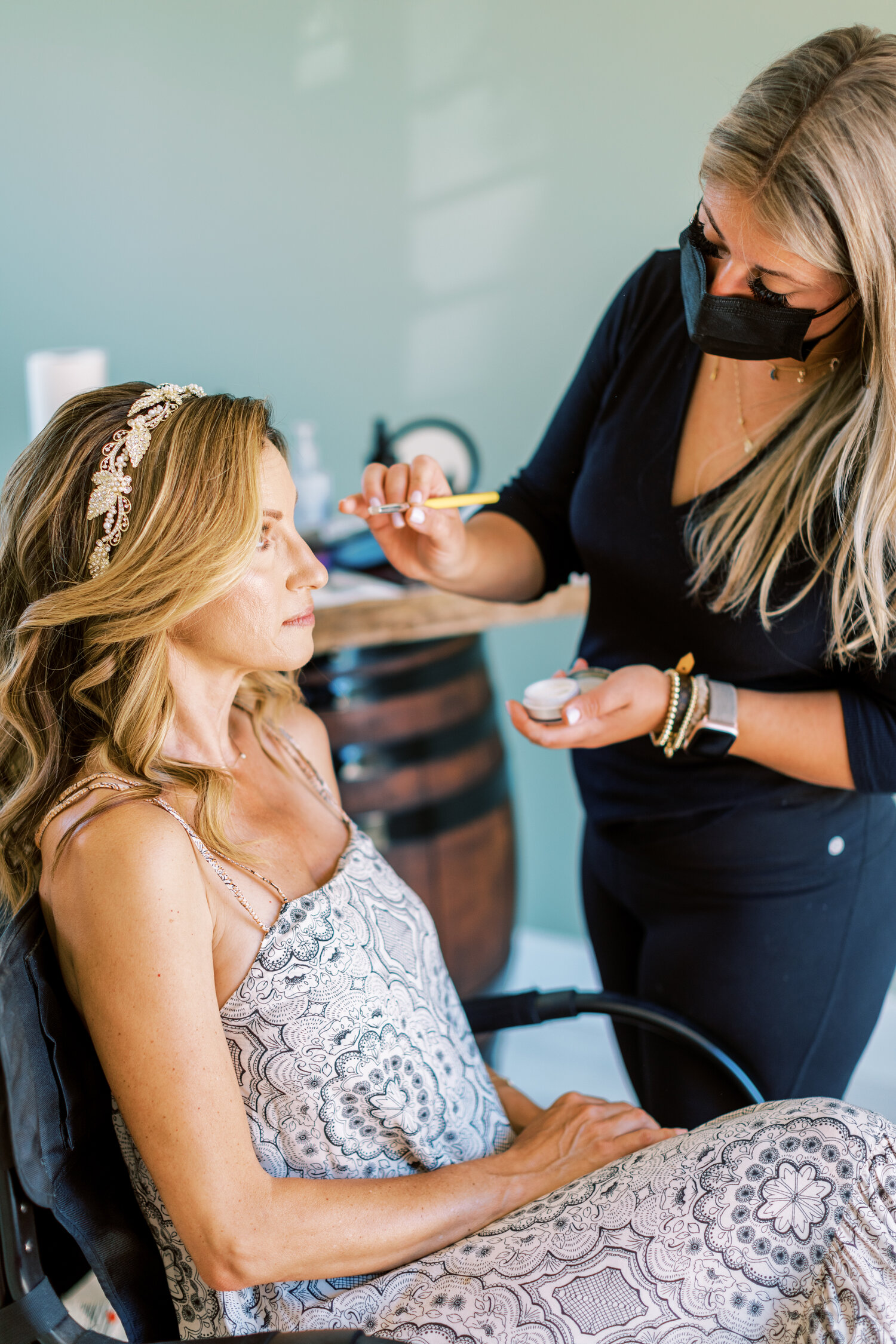 www.santabarbarawedding.com   Events by Fran   Ever After Petite Venue   Kendall Ann Photo   Tangled Lotus   Ever After Bridal   TOVAA   Hair by Pili   Jackie Romero   Bride Getting Ready