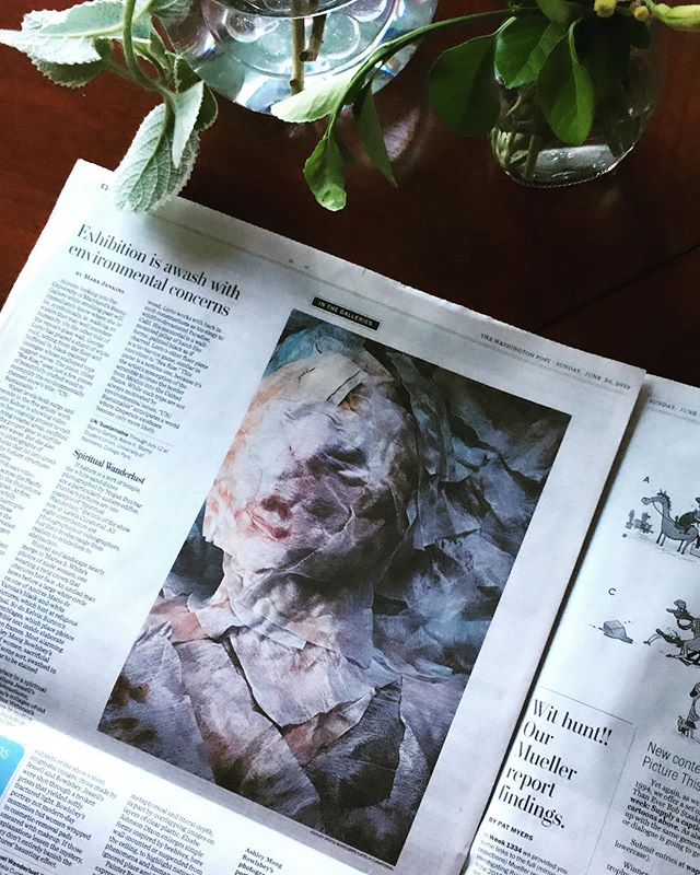 Loving the print version of the @washingtonpost with the review of Spiritual Wanderlust  @latelacuratorial. Thanks to all the participating artists, and a special thanks to Mark Jenkins for the review.  Spiritual Wanderlust will be on view until July 13th @latelacuratorial. Gallery hours are Saturdays 10 - 4 and by appointment.  @ashley_moog_bowlsbey @suewrbican @kburzon @mpresphotos @mynameisnotveronica @andys.car @megandunbarphotography @marisa_whitesparks  #acreativedc #dcartscene #latelacuratorial #spiritualwanderlust