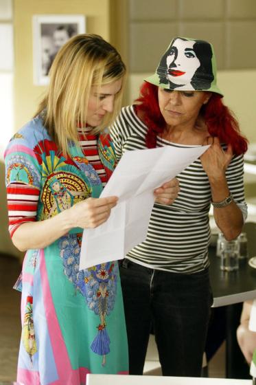 Patricia and Sarah Jessica Parker