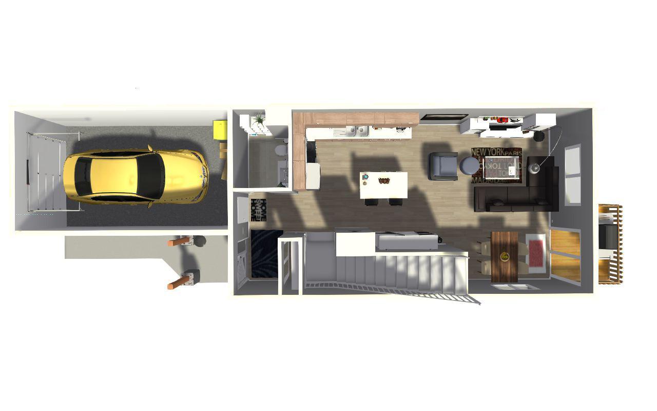 3D Main Floor
