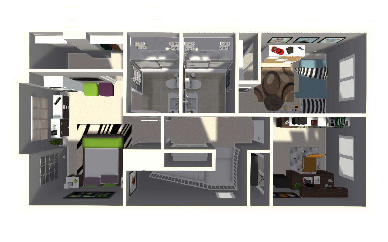 3D Upper Floor