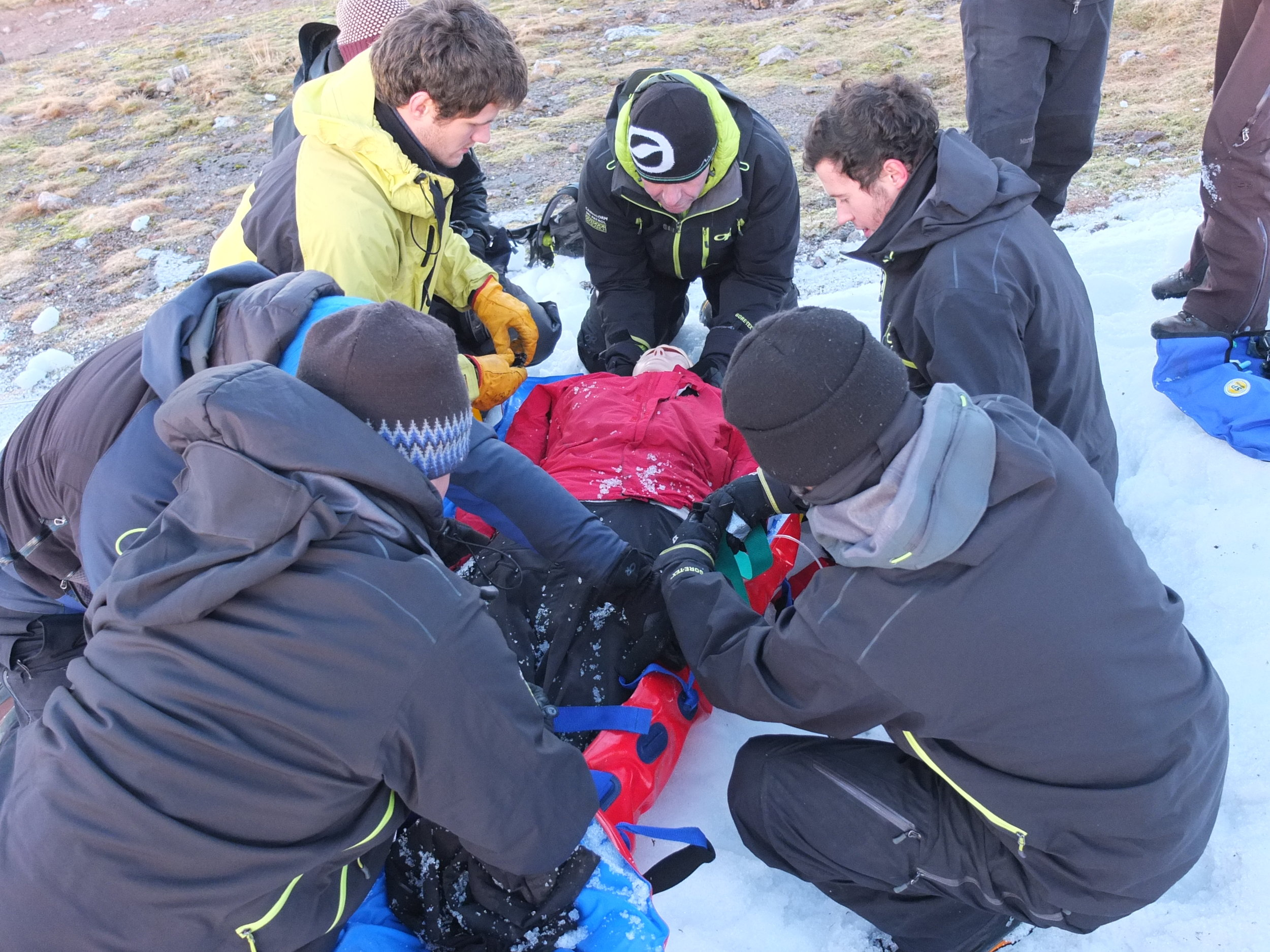 Snowsports First Aid Course