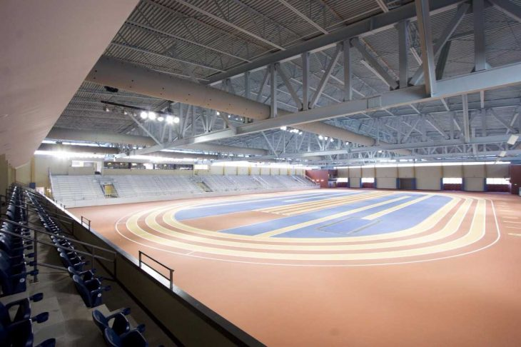 Indoor Hydraulic Track at Birmingham Crossplex