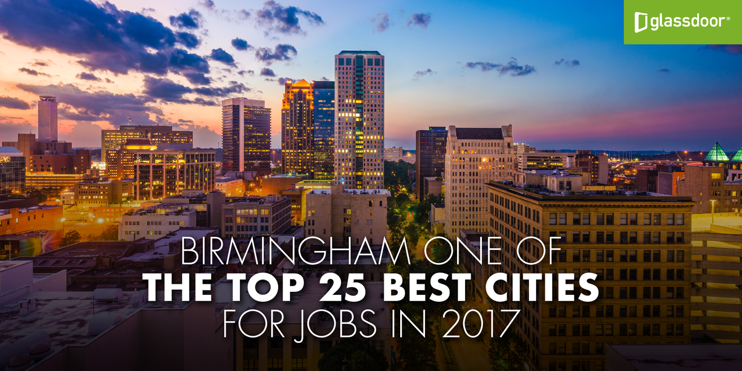 Birmingham named a top 25 city for jobs in 2017