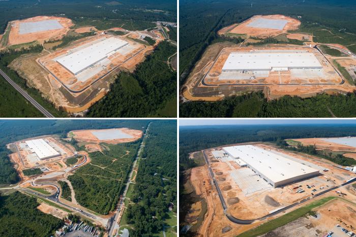 Mercedes-Benz U.S. International's new site in Bibb County consists of two facilities in the Birmingham metropolitan area.