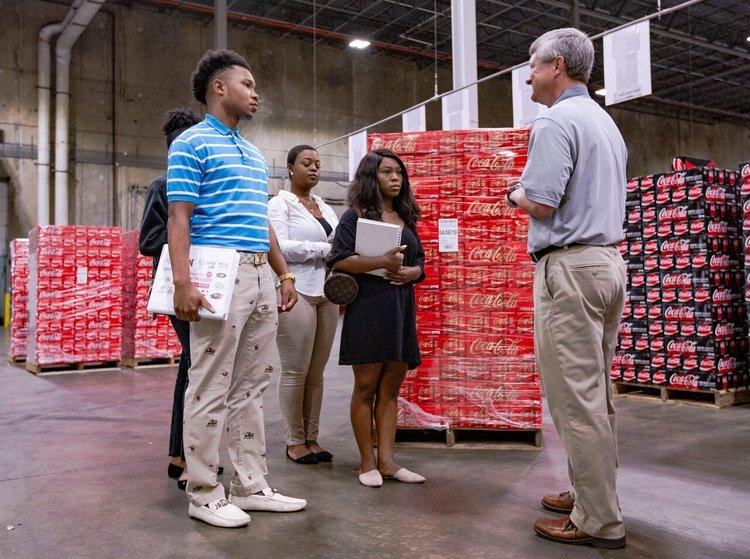Photo credit: Coca-Cola Bottling Co. UNITED