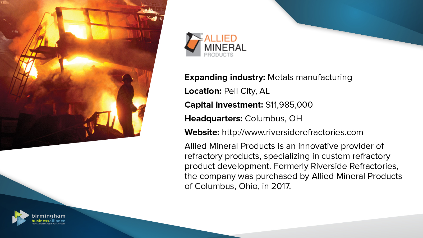 4) Allied Mineral Products