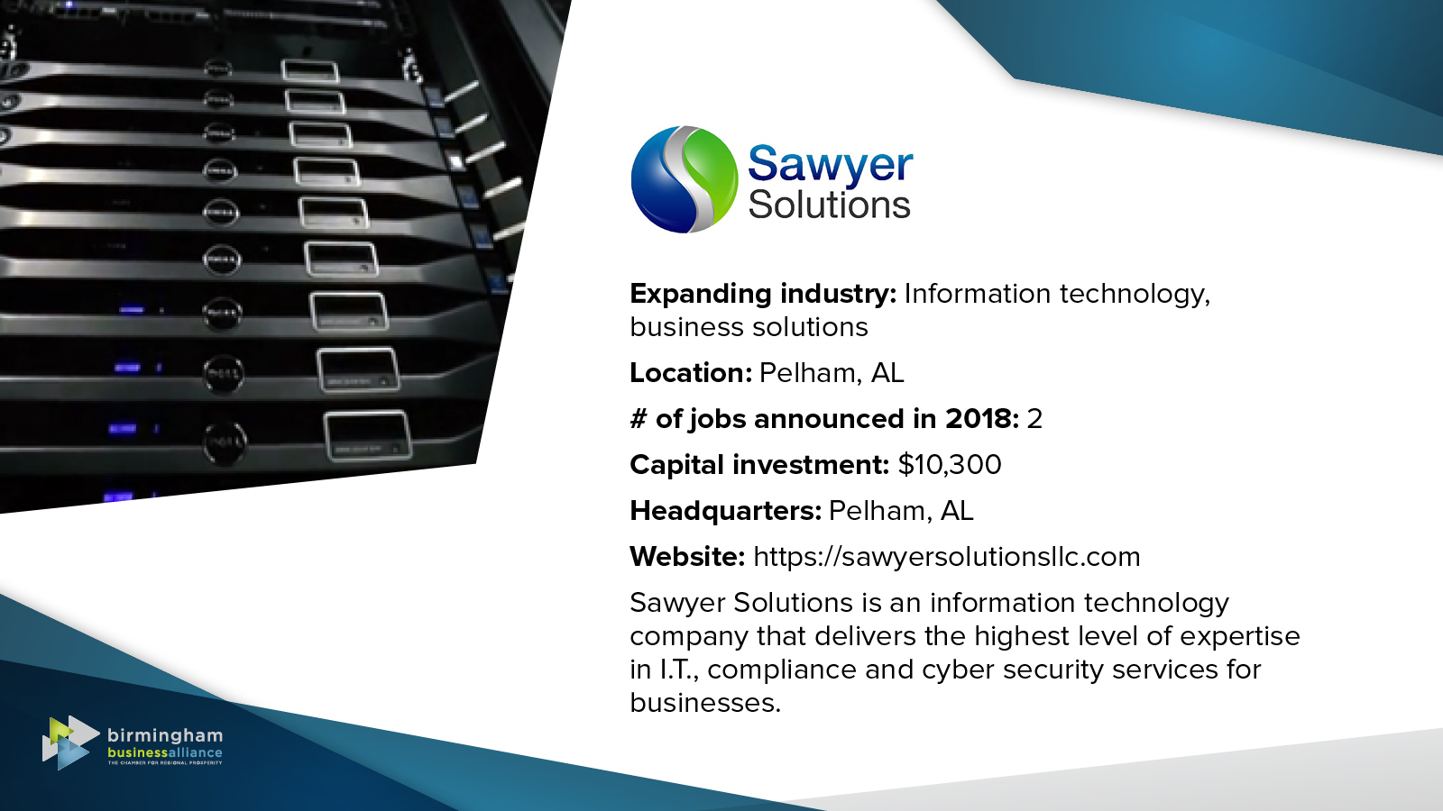 47) Sawyer Solutions