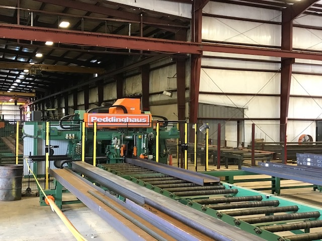 Garrison Steel's purchase of new equipment will allow it to increase its capacity by 30 percent.