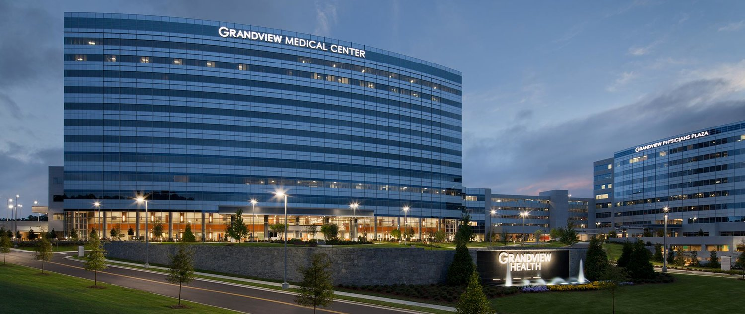 Grandview Medical Center is one project Garrison Steel has worked on in Birmingham.