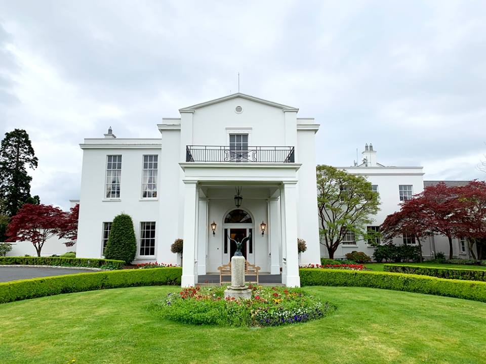 The Birmingham Business Alliance and the Mobile Area Chamber of Commerce sponsored a reception at the U.S. Ambassador's Residence in Ireland, pictured above. Over 50 attendees joined the State of Alabama's Life Science delegation for the event.