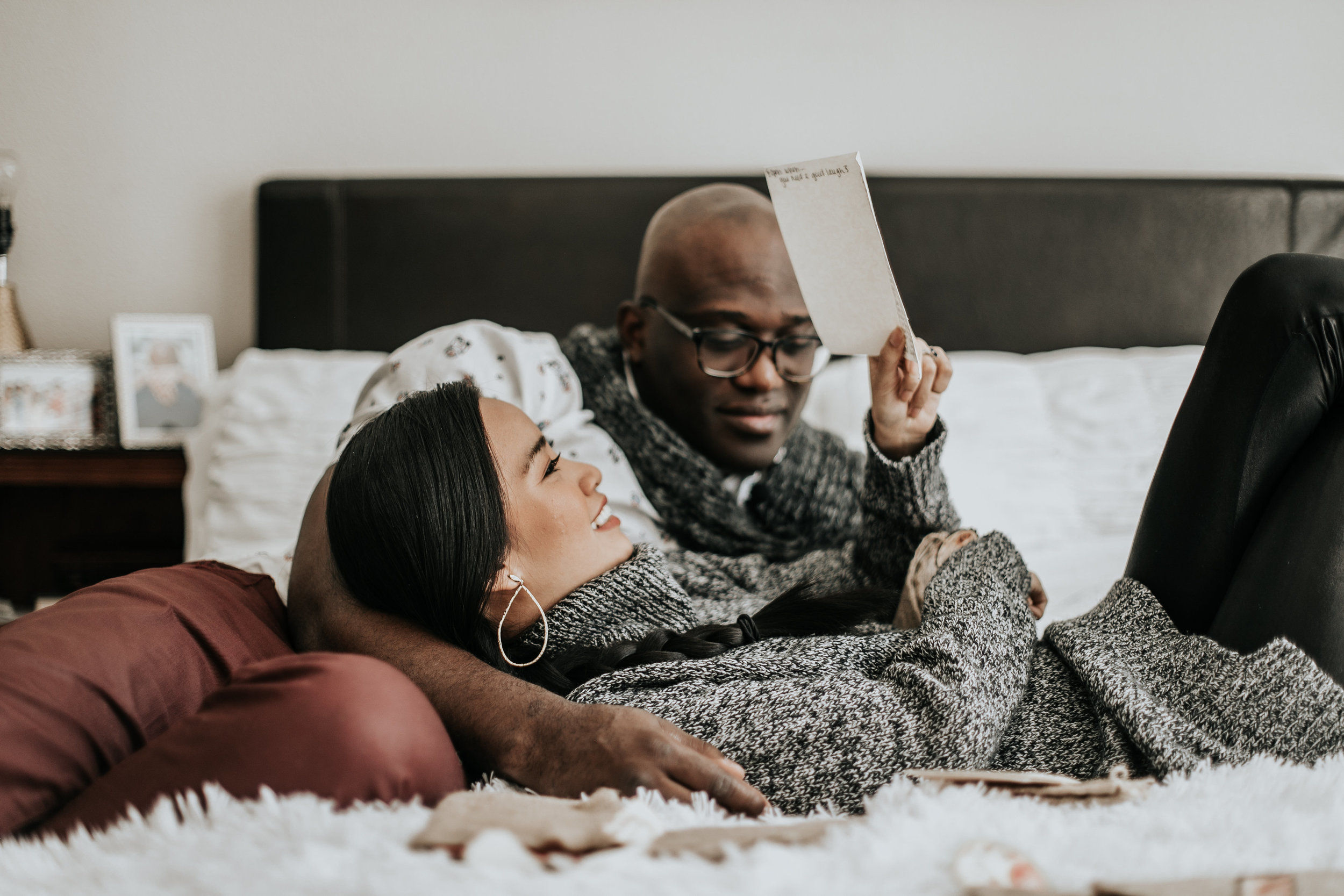 """Nika   Ihedigbo + Emeka Ihedigbo   @diwadoll   @mekk_noir    """"Stay really curious about your spouse, it's not always like that its because I'm in my head about my own expectations and what I want. But remember why you made the decision to marry your spouse in the first place"""" - Nika Ihedigbo"""