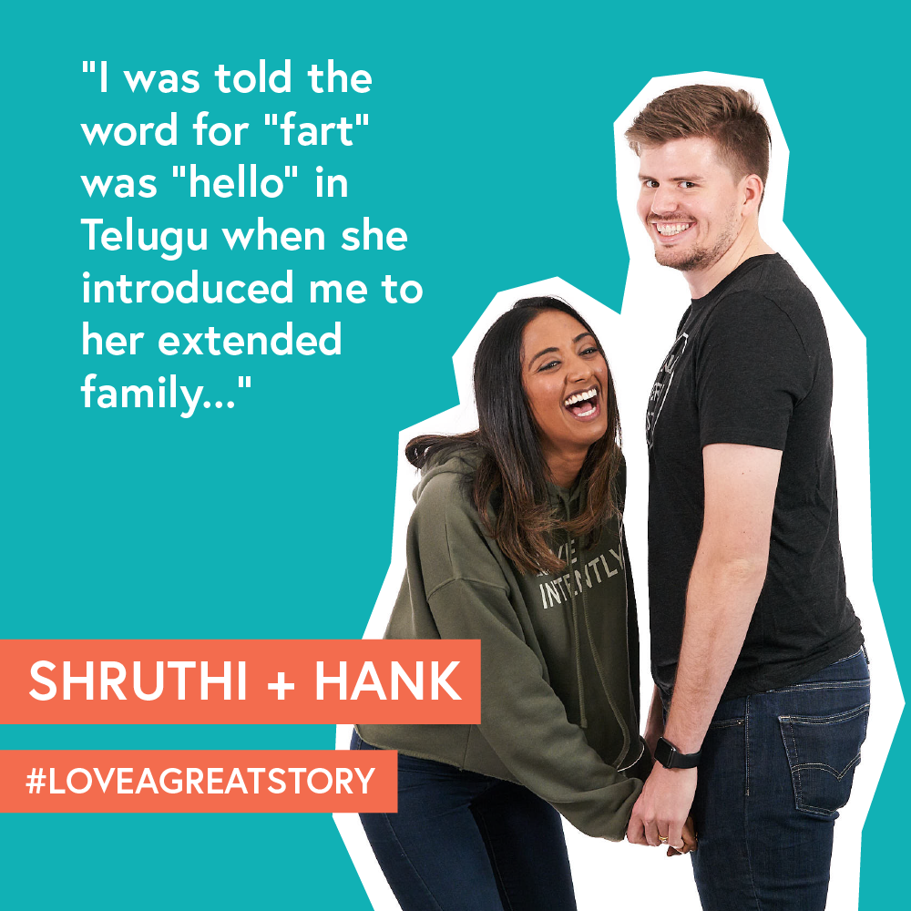 Shruthi and Hank  who was on  episode 11  of our podcast.  Shruthi  is a talented writer, content creator, blogger and influencer and Hank is an architect.