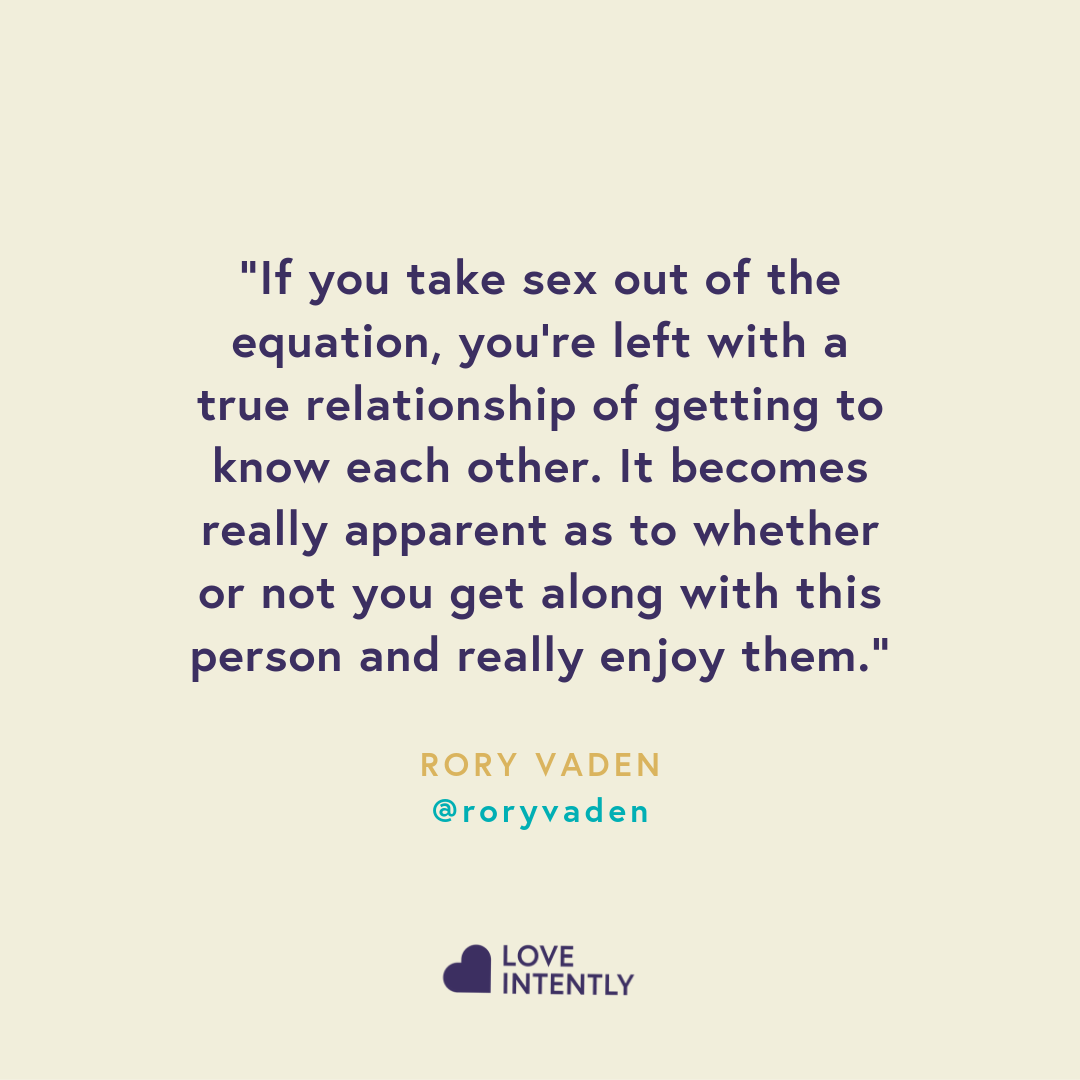 Taking sex out of the equation while you're still dating may lead to becoming more emotionally intimate with your partner.