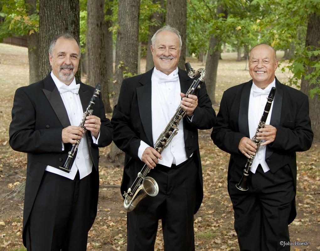 Eb Clarinet, Bass Clarinet & Bb Clarinet