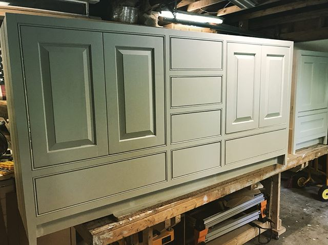 Bathroom vanities. @timalbrightdesign #cabinetmaker #millwork #woodworking #designbuild #greenecountyny #hudsonvalley #catskills #athensny
