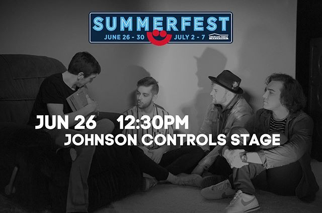 See you this Wednesday at Summerfest??🤷🏻♂️ Lots of new stuff to show you!! #summerfest2019