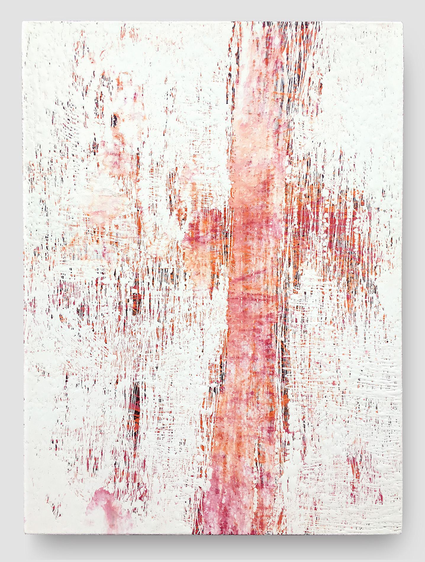 """Fluid Improvisation II   oil on canvas  36"""" x 48""""  Canvas edge is painted  (1.5"""" deep)   $900"""