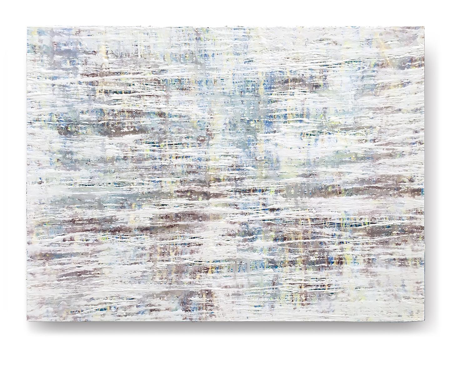 """Fluid Improvisation VII   oil on canvas  48"""" x 36""""  Canvas edge is painted  (1.5"""" deep)   $500"""
