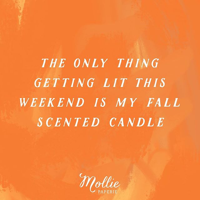 🧡🤷🏼♀️ Sorry not sorry?! 🤷🏼♀️🧡 But, we have you covered with allllll the fall scents.