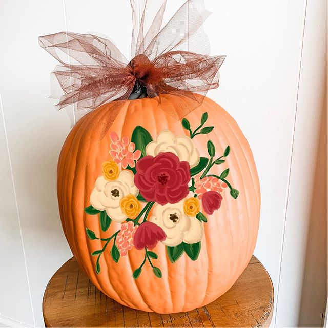 Hey Pumpkin 🎃 It's time for our annual Pumpkin Painting! We just released our class dates for October! Link in profile to sign up!