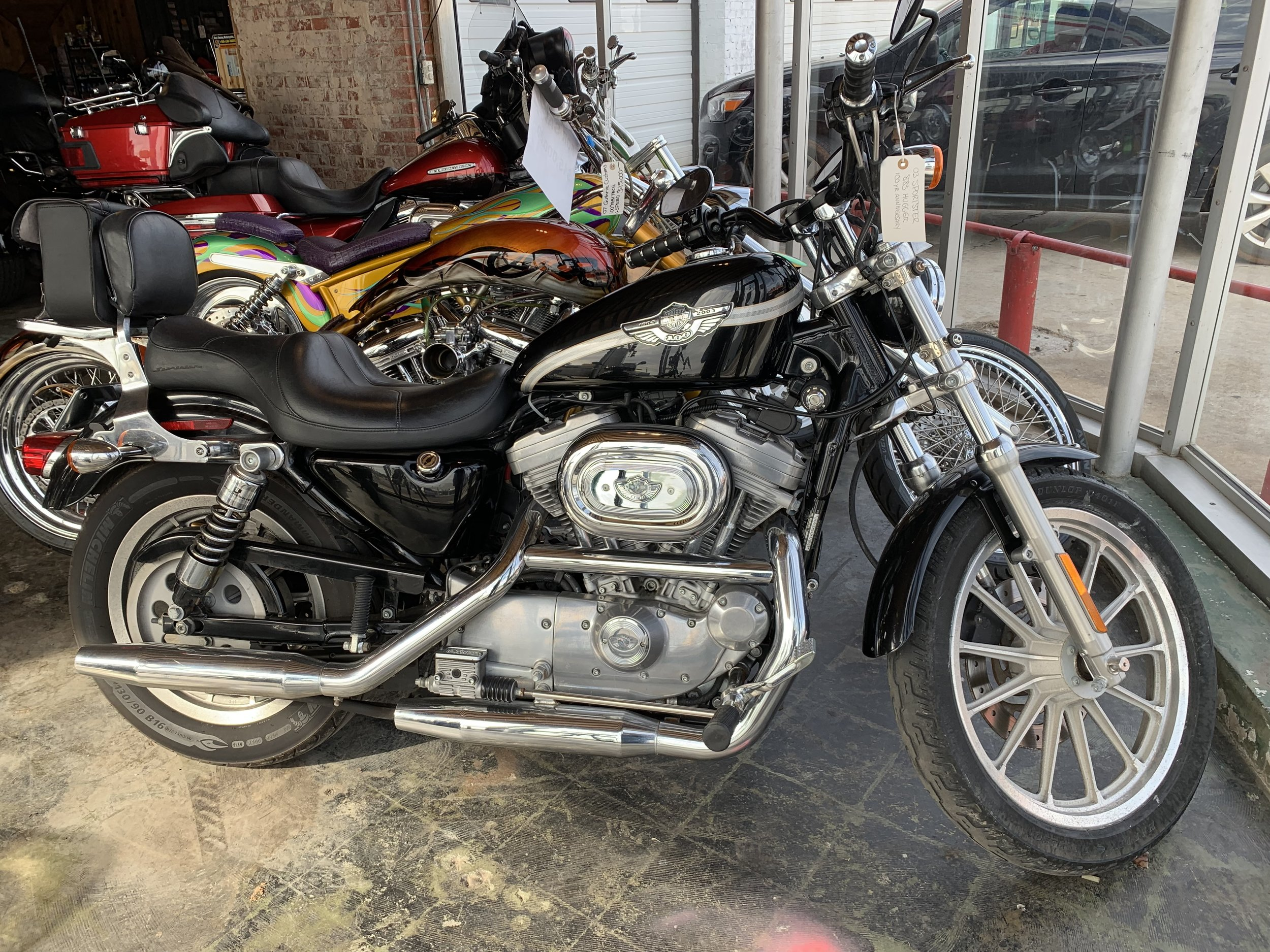 2003 883 Sportster $3,500 10,451 miles  NEW LOWER PRICE $3,000