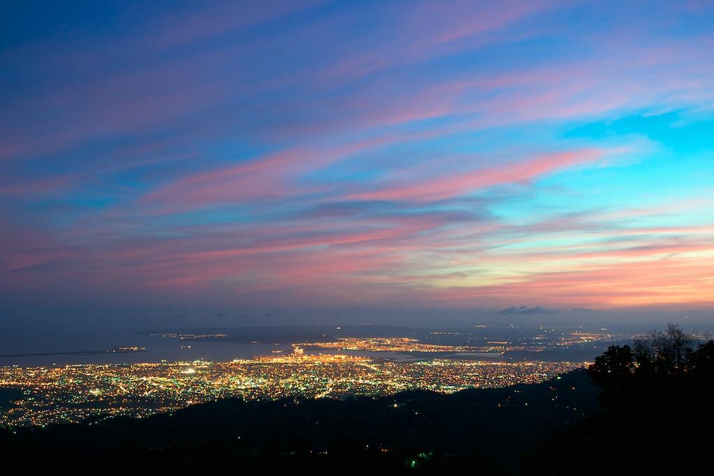 Sunset over Kingston