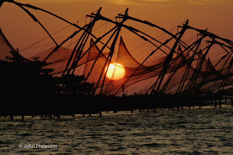 Chinese Fishing Nets, Kochi, Kerala