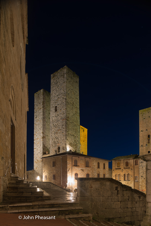 San Gimignano at Dawn