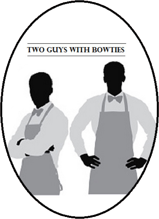 Two Guys with Bow Ties LOGO
