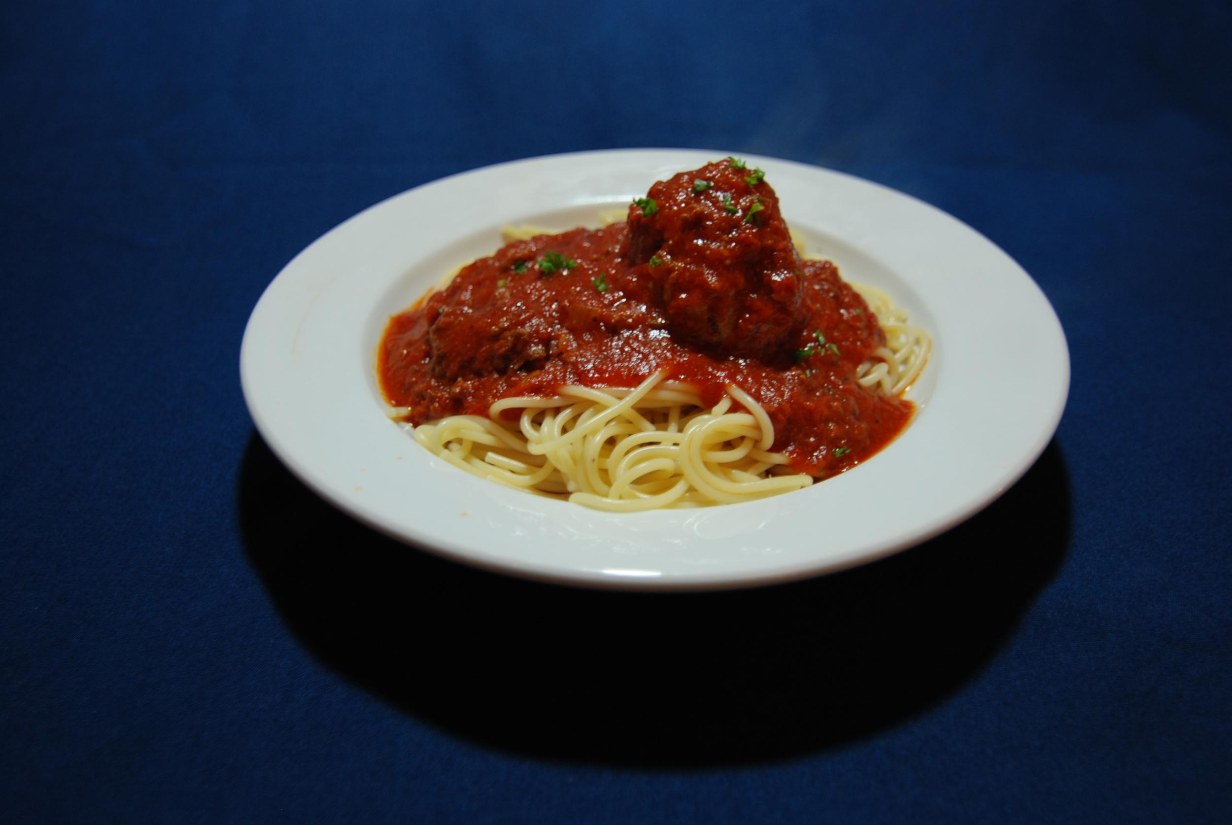Spaghetti & Jumbo Meatball