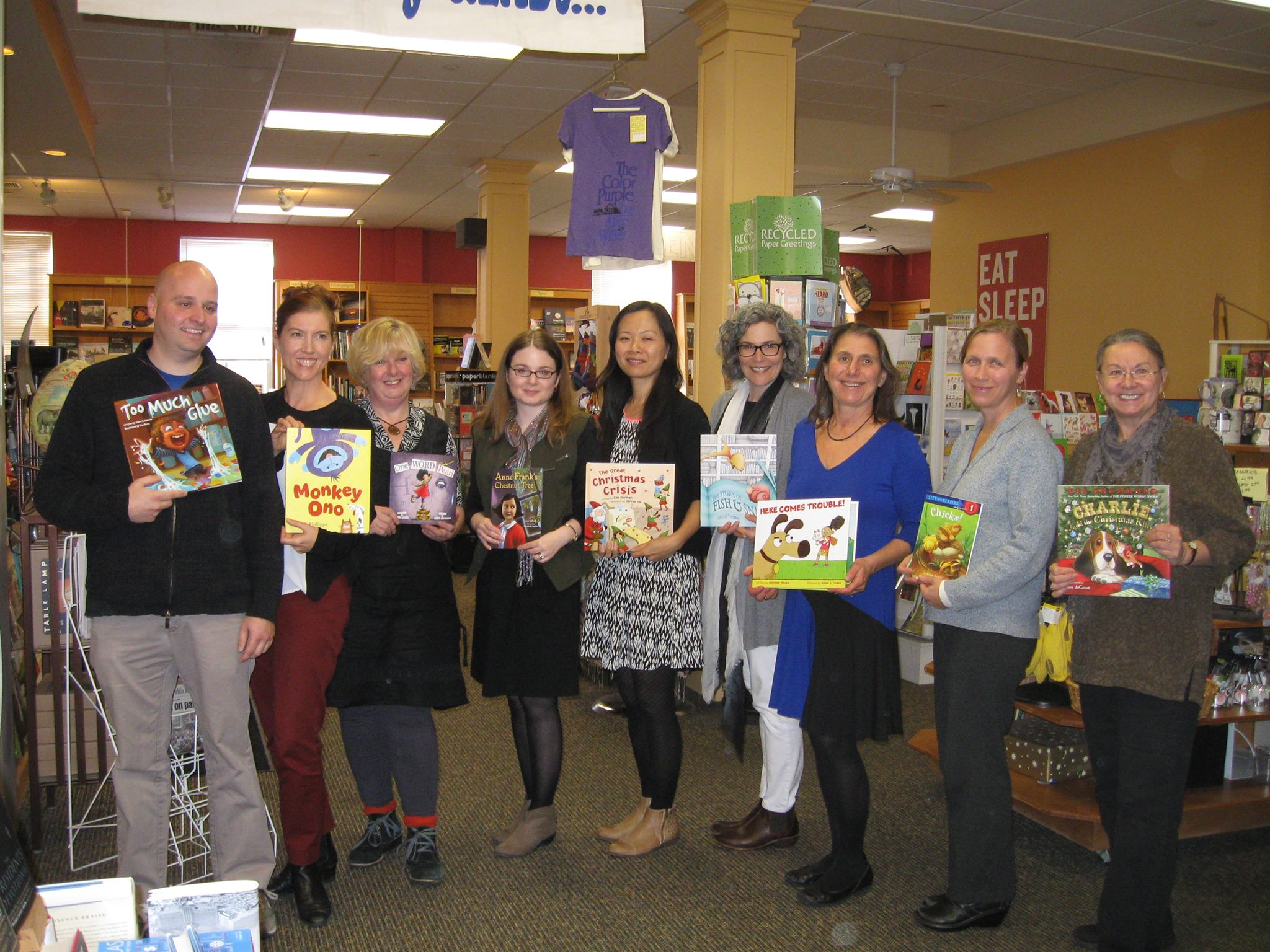 SCBWI Inisde Story Event, Odyssey Bookshop, South Hadley, MA