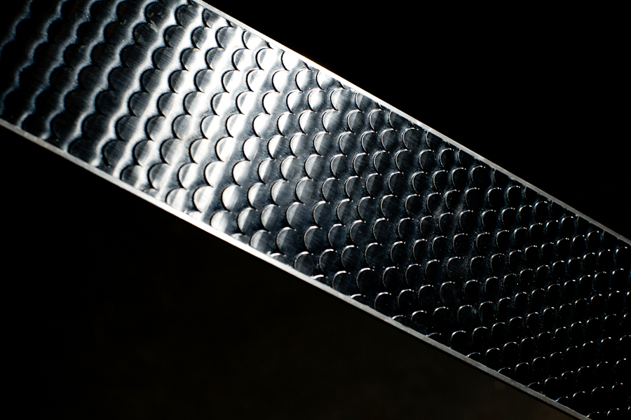 Scales on the bottom of backcountry skis