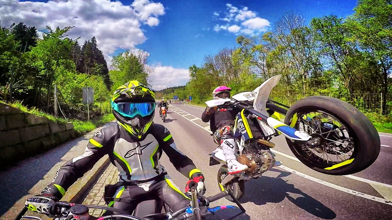 Today,  Supermoto is a lifestyle. (   source   )