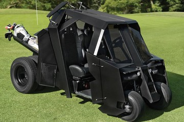Unless this is your golf cart. Carry on, Bruce Wayne. |    source