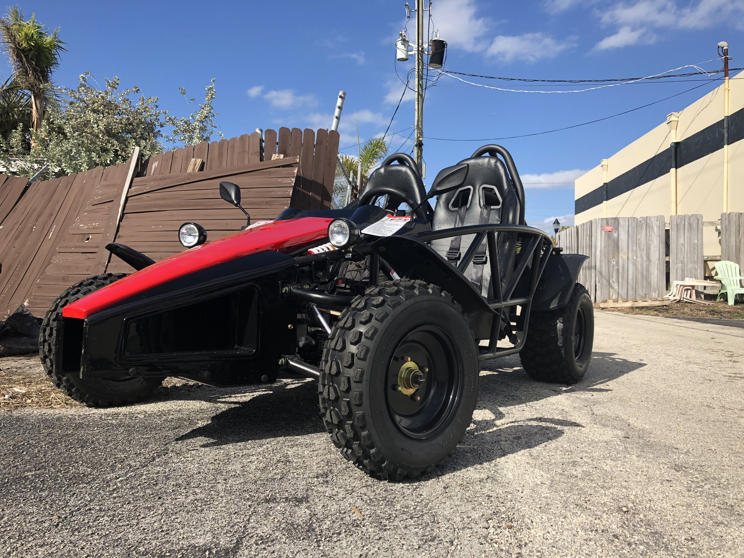 Here's our take on a street legal go kart.