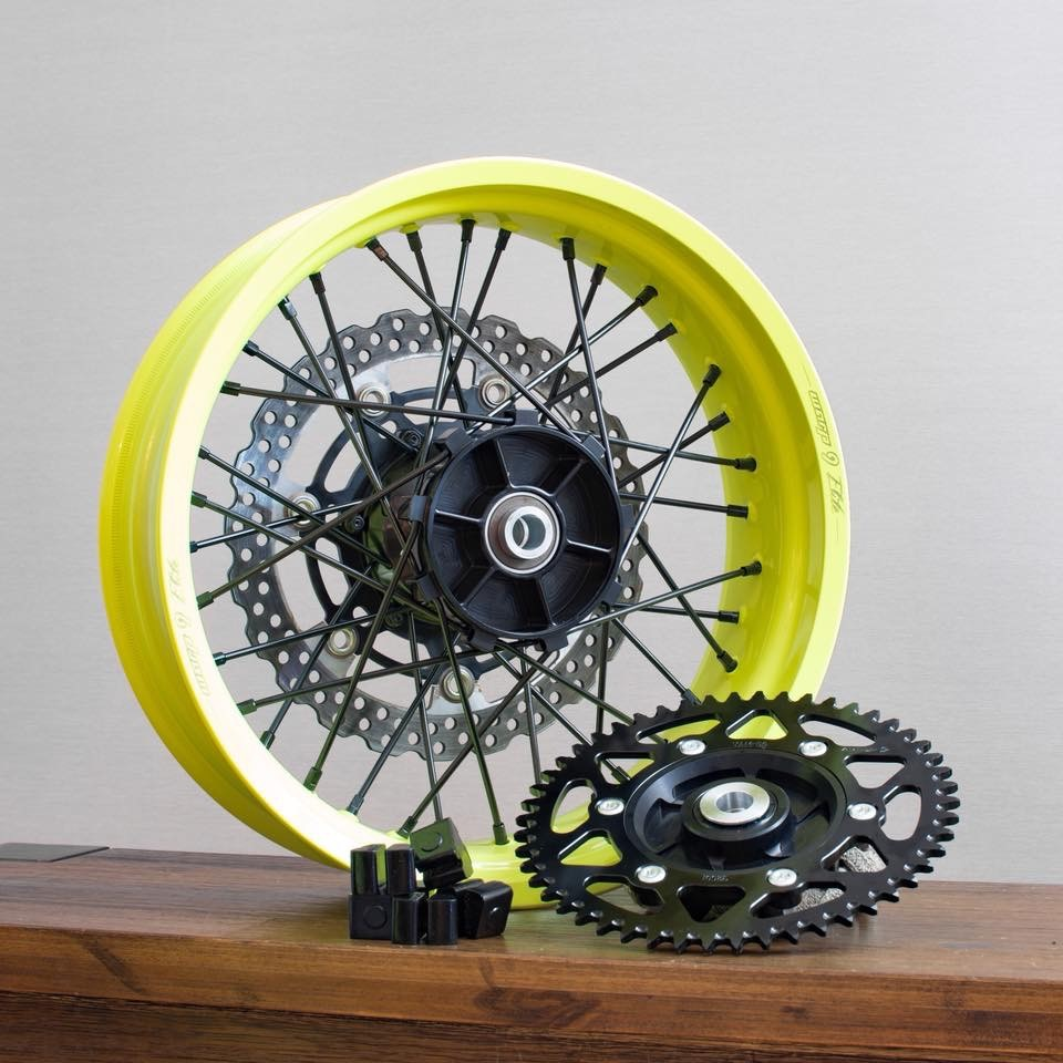 Powder coat your wheels to any color you choose!