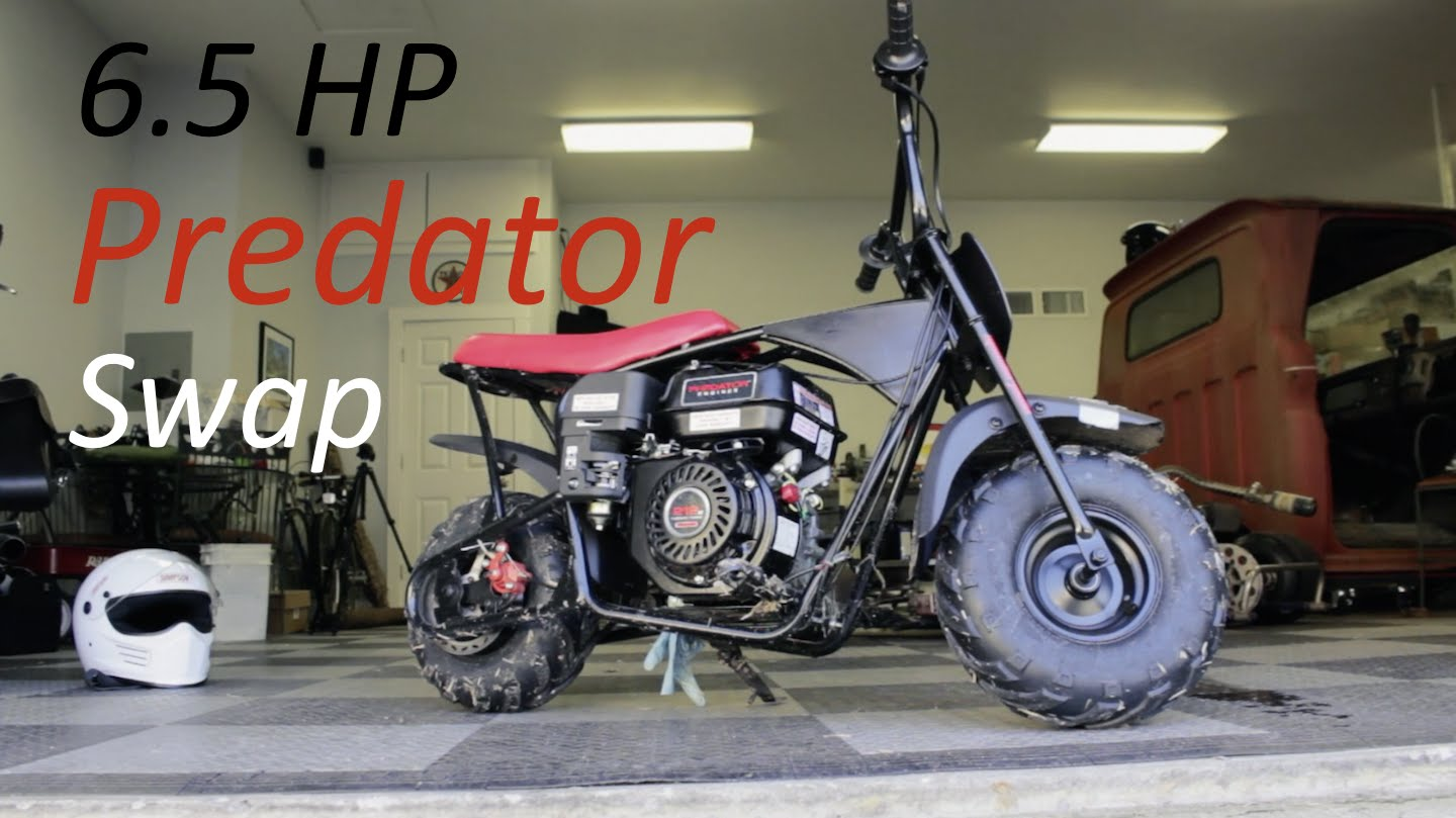 Another epic motorcycle engine swap… they're everywhere!
