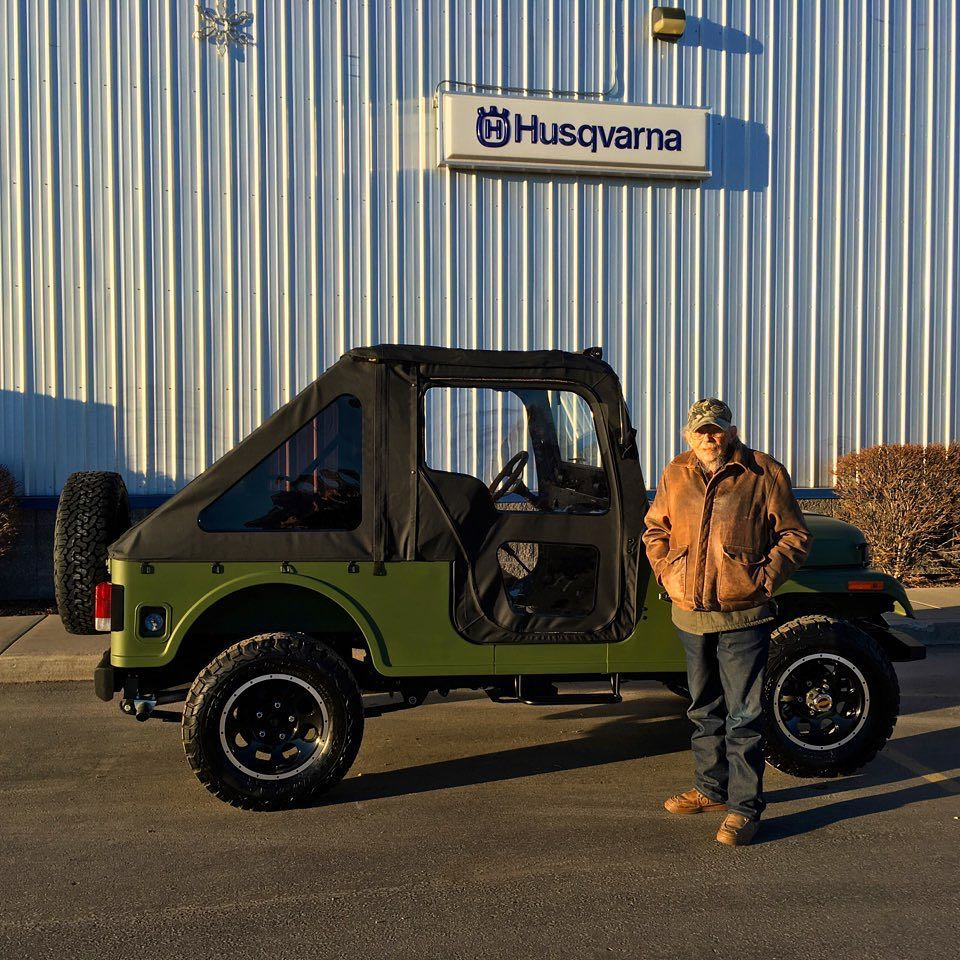 Merry Christmas to Duke from Kalispell, Montana, the proud owner of a new Roxor! From Instagram @ penco_powerproducts