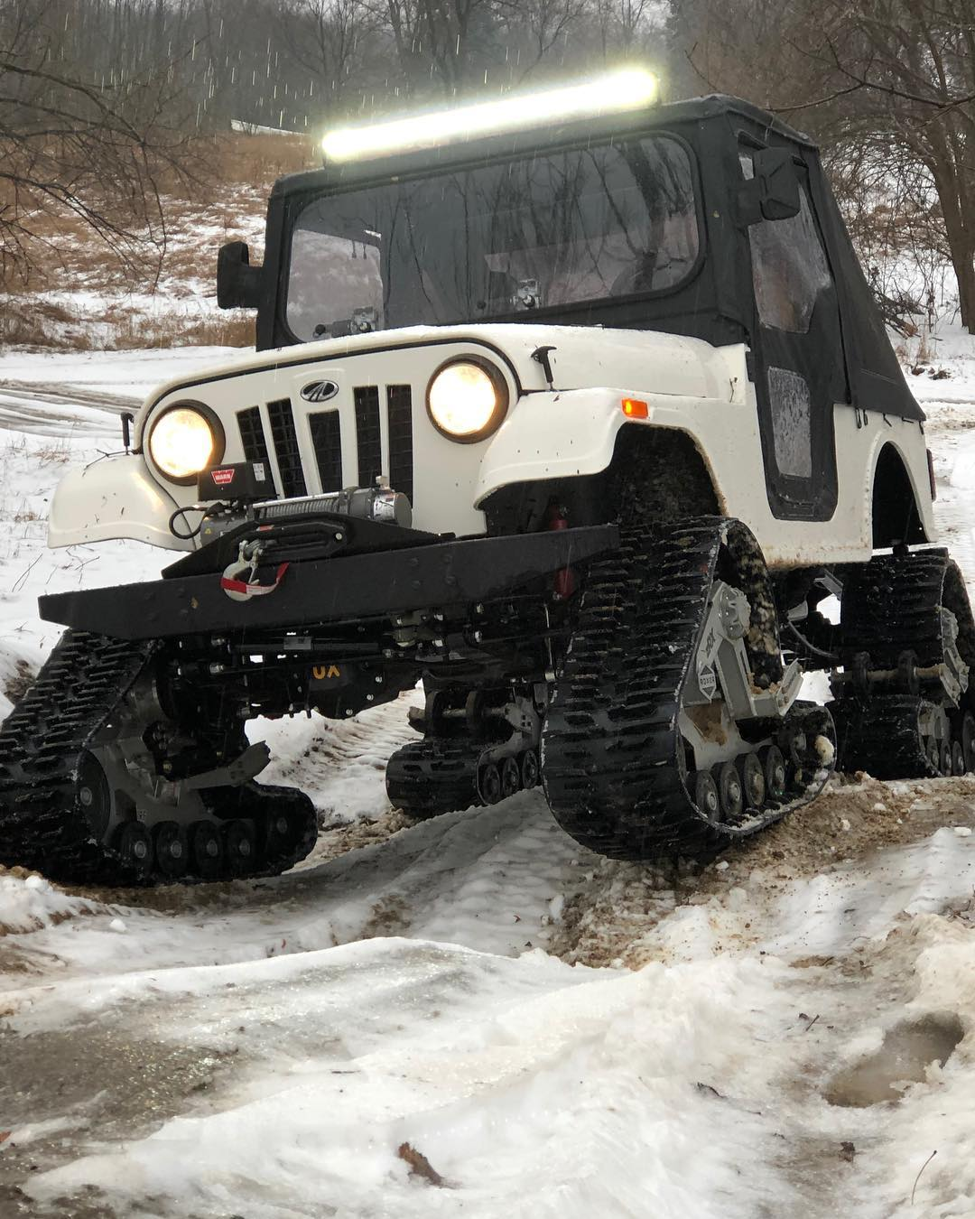 We can't wait for these tank tracks to go on sale! Courtesy of @ roxoroffroad