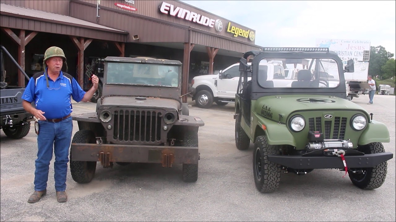 Old meets new: Cowtown USA will have a Mahindra Roxor at the Ride for America |  Cowtown USA
