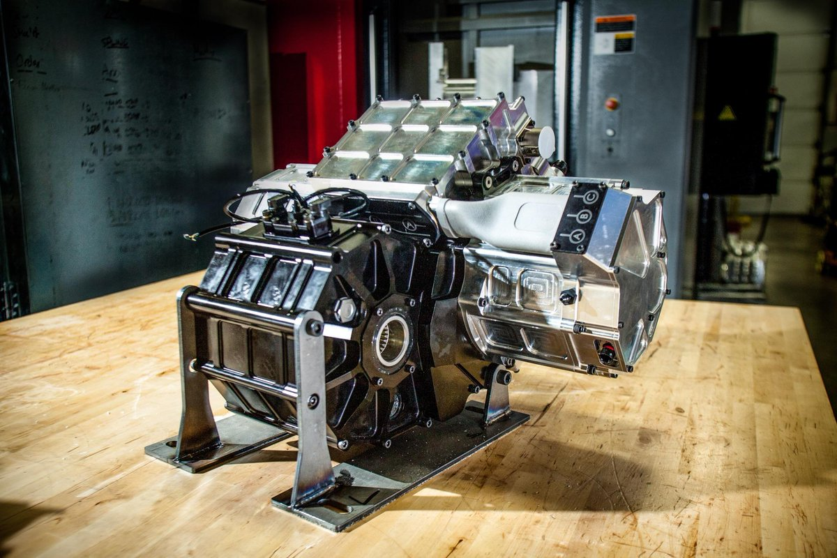 The powerplant of the NZT |  Nikola Motor Company