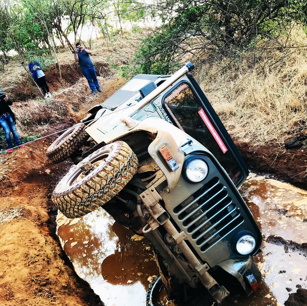 Try not to do that | Mahindra Thar via  Instagram