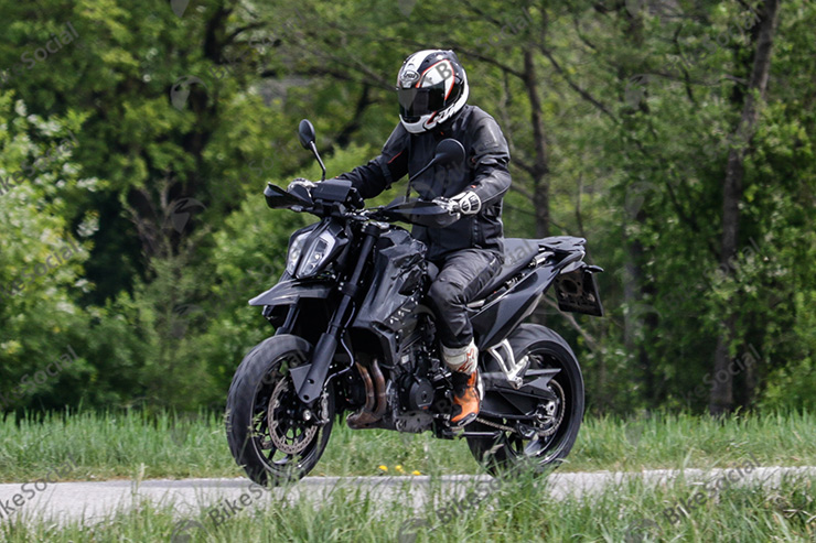 The 2020 KTM 790 SMC during testing |  source