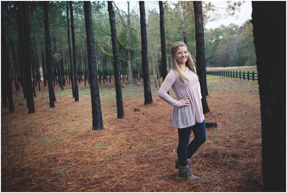 Senior Portrait Photographer | Jordan Henderson's Centreville Alabama Senior Shoot_0001