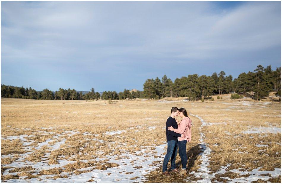 Evergreen Engagement Shoot | Morgan and Alex's Mountain Engagement Shoot_0010