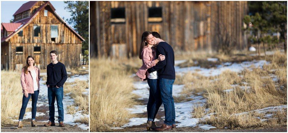 Evergreen Engagement Shoot | Morgan and Alex's Mountain Engagement Shoot_0015