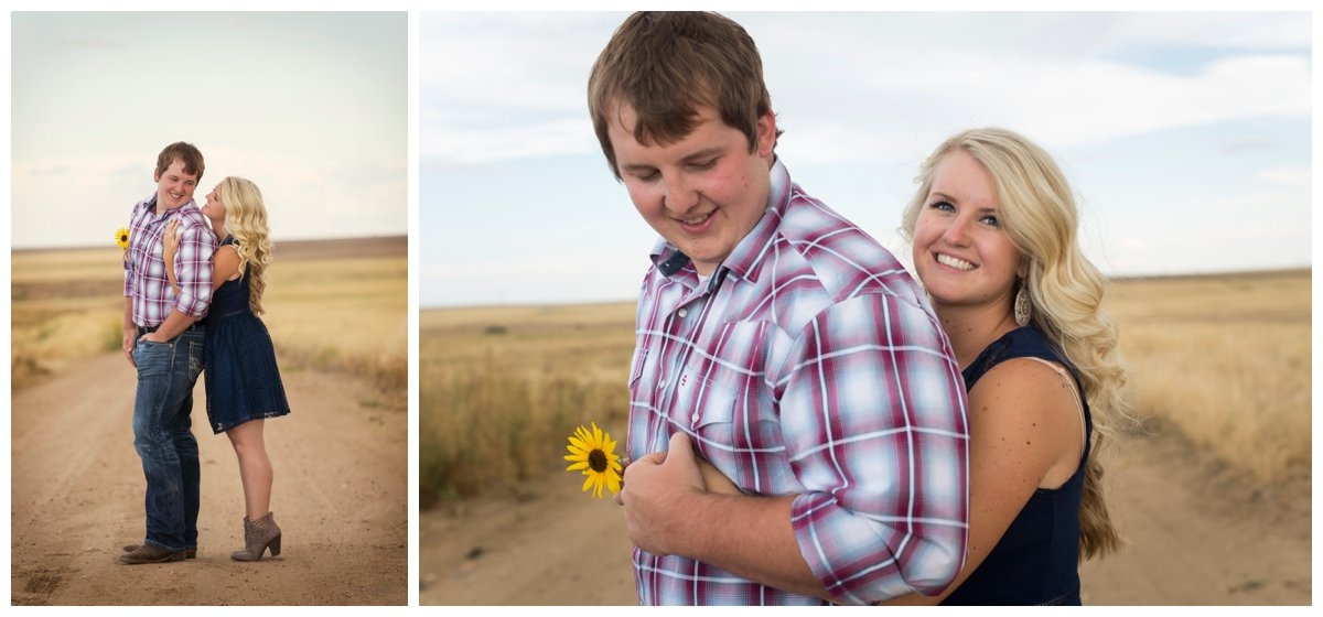 Sunflower Field Engagement Shoot | Bryce and Tessi's Engagement_0009.jpg